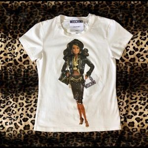 Moschino Couture Milano Barbie Top